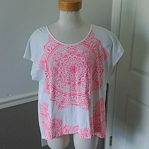 NWOT Style & Co embroidered shirt